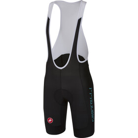 Castelli Evoluzione 2 Bib Shorts Herren black/(sky blue/wordmark)